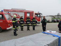 Ausbildungsprüfung Atemschutz am 05.04.2014