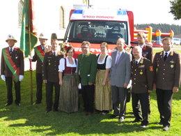 Feuerwehfest mit Oldtimertreffen und Fahrzeugsegnung
